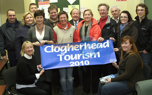 Hazel Markey, Mark Deery, Laura O'Shaughnessy, Irish Seal Sanctuary and Frank Godfrey with Local Residents at the Clogherhead Tourism Meeting...Photo NEWSFILE/Jenny Matthews.(Photo credit should read Jenny Matthews/NEWSFILE)....This Picture has been sent you under the condtions enclosed by:.Newsfile Ltd..The Studio,.Millmount Abbey,.Drogheda,.Co Meath..Ireland..Tel: +353(0)41-9871240.Fax: +353(0)41-9871260.GSM: +353(0)86-2500958.email: pictures@newsfile.ie.www.newsfile.ie.FTP: 193.120.102.198.