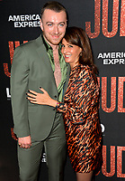 "LOS ANGELES, USA. September 20, 2019: Sam Smith & Nia Vardalos  at the premiere of ""Judy"" at the Samuel Goldwyn Theatre.<br /> Picture: Paul Smith/Featureflash"