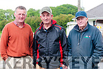 Ballyduff Horse Fair : Pictured at Ballyduff horse fair on Sunday last were Mossie Foley, Firies, John O'Connor,  Liselton & Eddie Mangan, Ballylongford.