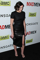 "HOLLYWOOD, LOS ANGELES, CA, USA - APRIL 02: Elisabeth Moss at the Los Angeles Premiere Of AMC's ""Mad Men"" Season 7 held at ArcLight Cinemas on April 2, 2014 in Hollywood, Los Angeles, California, United States. (Photo by Xavier Collin/Celebrity Monitor)"