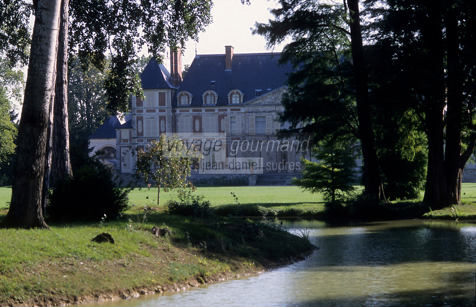 Europe/France/Ile-de-France/91/Essonne/Courson-Monteloup: Le Château de Courson [Non destiné à un usage publicitaire - Not intended for an advertising use]