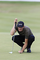 Sebastian Heisele (GER) on the 12th green during Saturday's Round 3 of the Porsche European Open 2018 held at Green Eagle Golf Courses, Hamburg Germany. 28th July 2018.<br /> Picture: Eoin Clarke | Golffile<br /> <br /> <br /> All photos usage must carry mandatory copyright credit (&copy; Golffile | Eoin Clarke)
