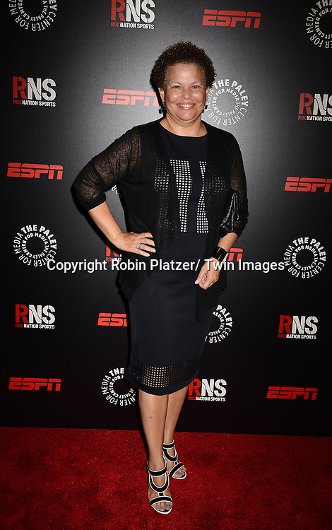 Debra Lee attends The Paley Center for Media's Annual Benefit Dinner honoring ESPN' s 35th Anniversary on May 28, 2014 at 583 Park Avenue in New York City, NY, USA.