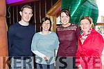 Brian Murphy, Teresa Doody, Aileen O'Keeffe and Maureen Sheehan enjoying the Killarney Garda coffee morning in the Plaza Hotel on Tuesday