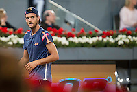 Portuguese Joao Sousa during Mutua Madrid Open Tennis 2016 in Madrid,  May 06, 2016. (ALTERPHOTOS/BorjaB.Hojas) /NortePhoto.com /NortePhoto