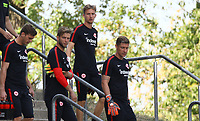 Torwart Frederik R&ouml;nnow (Eintracht Frankfurt), Torwart Felix Wiedwald (Eintracht Frankfurt) - 21.08.2018: Eintracht Frankfurt Training, Commerzbank Arena, DISCLAIMER: <br /> DFL regulations prohibit any use of photographs as image sequences and/or quasi-video.