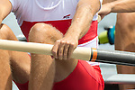 Rowing, Canada, Canadian Men's Lightweight Four, Timothy Meyers, Morgan Jarvis, Terrence McKall, Mike Lewis, stroke, 2010 FISA World Rowing Championships, Lake Karapiro, Hamilton, New Zealand, Heat, Tuesday 2 November,