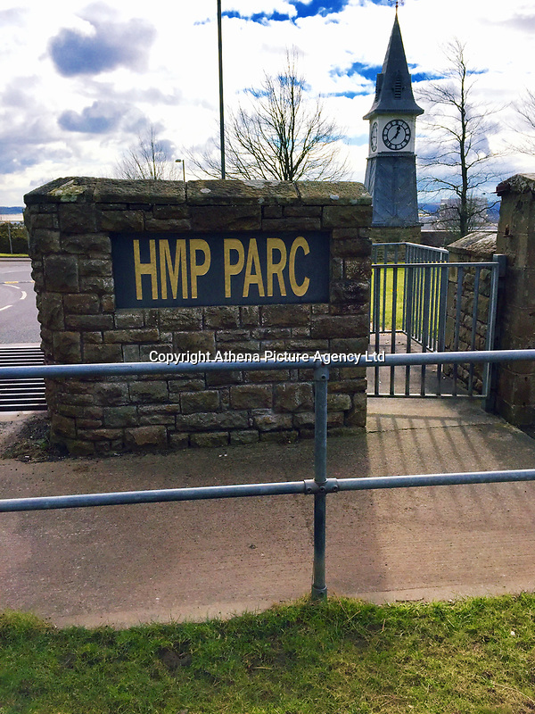 """Pictured: HMP Parc Prison in Bridgend, Wales, UK<br /> Re: A prisoner hooked on legal high Spice died at a privately-run jail where drugs are """"rife"""", an inquest heard yesterday(tues).<br /> Jeffrey Griffiths, 35, hanged himself at the prison where there has been a huge rise in the use of New Pyschoactive Substances or legal highs.<br /> The prison's senior operations manager Samantha O'Neil said: """"New Psychoactive Substances are rife across the prison.<br /> """"They are dreadful drugs - it is frightening to see someone under the influence of NPS.<br /> """"People have died and we've had to bring them back.""""<br /> Griffiths regularly used Spice which is smuggled into jails impregnated onto letters, newspapers and magazines.<br /> The drug, almost impossible to detect in medical tests, can cause paranoia, hallucinations and aggression."""