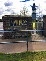 Pictured: HMP Parc Prison in Bridgend, Wales, UK<br /> Re: A prisoner hooked on legal high Spice died at a privately-run jail where drugs are &quot;rife&quot;, an inquest heard yesterday(tues).<br /> Jeffrey Griffiths, 35, hanged himself at the prison where there has been a huge rise in the use of New Pyschoactive Substances or legal highs.<br /> The prison's senior operations manager Samantha O'Neil said: &quot;New Psychoactive Substances are rife across the prison.<br /> &quot;They are dreadful drugs - it is frightening to see someone under the influence of NPS.<br /> &quot;People have died and we've had to bring them back.&quot;<br /> Griffiths regularly used Spice which is smuggled into jails impregnated onto letters, newspapers and magazines.<br /> The drug, almost impossible to detect in medical tests, can cause paranoia, hallucinations and aggression.