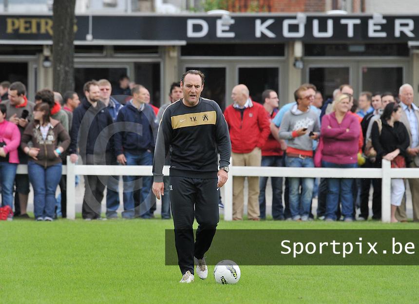 KV Kortrijk : Eerste training met Yves Vanderhaeghe..foto VDB / BART VANDENBROUCKE