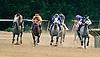 Uptown Sandy Girl winning at Delaware Park on 6/21/17