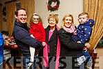 Alex and Alison Hoffman, Lily Healy with Kay and Cormac Hoffman at the Kerins O'Rahillys children's Christmas party in the clubrooms on Sunday.