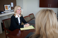 4/26/11 9:46:25 AM -- Warrington, Pa. -- Fox Rothschild Attorney Susan Smith at work in her Warrington, Pa. office April 26, 2011. -- Photo by William Thomas Cain/Cain Images for Fox Rothschild.