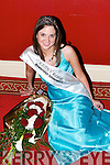 Laura Costelloe, the newly crowned Kerry Rose 2007 on Friday night at The Earl of Desmond Hotel, Tralee, after she was selected from the 23 Kerry Roses to represent Kerry in the 2007 Rose of Tralee finals in August.