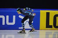 SCHAATSEN: HEERENVEEN: 24-10-2014, IJsstadion Thialf, Trainingswedstrijd, Josh Coponni (AUS), ©foto Martin de Jong