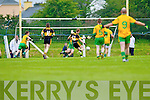 Colm Cooper of Dr Crokes scores the opening goal against Gneeveguilla last Sunday evening in Gneeveguilla in round 1 of the Garvey's Supervalue County Senior Championship.