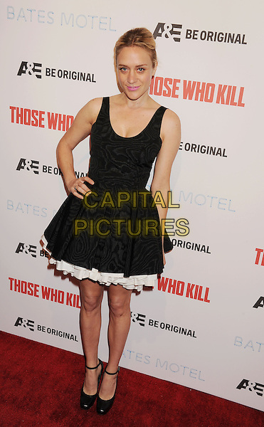 LOS ANGELES, CA- FEBRUARY 26: Actress Chloe Sevigny arrives at the premiere party for A&amp;E's Season 2 of 'Bates Motel' and the series premiere of 'Those Who Kill' at Warwick on February 26, 2014 in Los Angeles, California.<br /> CAP/ROT/TM<br /> &copy;Tony Michaels/Roth Stock/Capital Pictures
