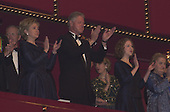 First lady Hillary Rodham Clinton, United States President Bill Clinton, Chelsea Clinton, and U.S. Secretary of State Madeleine Albright at the Kennedy Center Honors at the John F. Kennedy Center in Washington, D.C. on Sunday, December 3, 2000..Credit: Ron Sachs / Pool via CNP