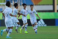 2nd November 2019; Kleber Andrade Stadium, Cariacica, Espirito Santo, Brazil; FIFA U-17 World Cup Brazil 2019, Chile versus Korea Republic; Paik Sanghoon of Korea Republic celebrates his goal in the 1st minute, 0-1