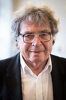 Berlin, Ungarischer Schriftsteller György Konrád posiert am Freitag (17.05.13) in Humboldt-Universität in Berlin. Foto: Maja Hitij/CommonLens