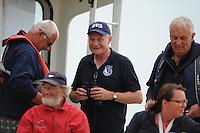 ZEILEN: SLEAT: Sleattemer Mar, 06-08-2014, IFKS Skûtsjesilen, Voorzitter Sicko Heldoorn, ©foto Martin de Jong
