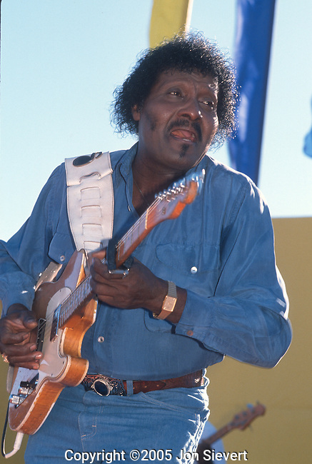 Albert Collins, Sept 1990, San Francisco Blues Festival