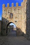 Puerto del Triunfo gateway in medieval town of Trujillo, Caceres province, Extremadura, Spain
