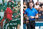 AMSTELVEEN - Hockey - Hoofdklasse competitie dames. AMSTERDAM-DEN BOSCH (3-1) scheidsrechter Daniël Veerman  COPYRIGHT KOEN SUYK