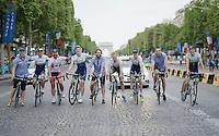 2014 Tour de France<br /> stage 21: Evry - Paris Champs-Elys&eacute;es (137km)