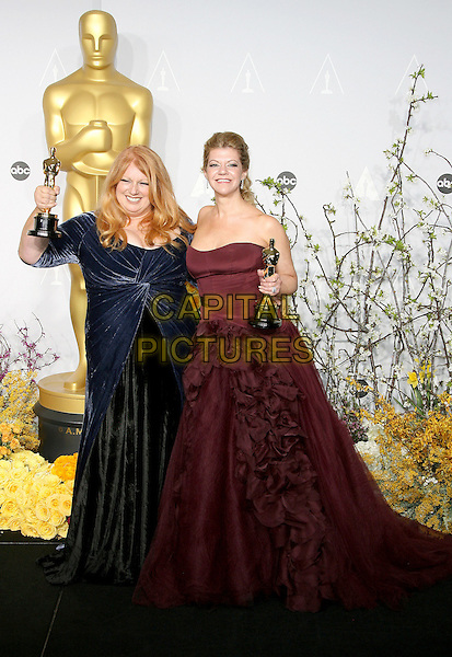 oscars02 March 2014 - Hollywood, California - Adruitha Lee, Robin Mathews. 86th Annual Academy Awards held at the Dolby Theatre at Hollywood &amp; Highland Center. <br /> CAP/ADM<br /> &copy;AdMedia/Capital Pictures