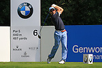 Ignacio Garrido teeing off on the 6th.on day two of the BMW International Open in GC Munchen Eichenried. 25/6/2010.Picture Fran Caffrey/www.golffile.ie