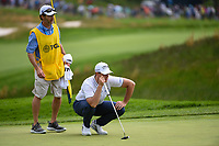 Luke List (USA) looks over his putt on 5 during round 4 of the 2019 PGA Championship, Bethpage Black Golf Course, New York, New York,  USA. 5/19/2019.<br /> Picture: Golffile | Ken Murray<br /> <br /> <br /> All photo usage must carry mandatory copyright credit (© Golffile | Ken Murray)