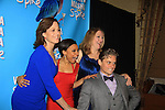 "ATWT Billy Magnussen, Sigourney Weaver,Kristen Nielsen, Shalita Grant star iin Broadway's ""Vanya and Sonia and Masha and Spike"" which had its opening night on March 14, 2013 at the Golden Theatre, New York City, New York.  (Photo by Sue Coflin/Max Photos)"