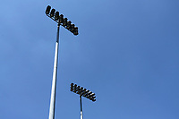 Floodlights over the ground during Essex CCC vs Somerset CCC, Specsavers County Championship Division 1 Cricket at The Cloudfm County Ground on 25th June 2018