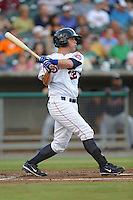 Blake Lalli during a game against the Mississippi Braves at Smokies Park, Kodak, TN August 19, 2010. Tennessee won the game 5-4.