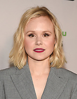 """LOS ANGELES - MARCH 2: Alison Pill attends the premiere of the new FX limited series """"Devs"""" at ArcLight Cinemas on March 2, 2020 in Los Angeles, California. (Photo by Frank Micelotta/FX Networks/PictureGroup)"""
