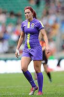 Joanne Watmore of England during the iRB Marriott London Sevens at Twickenham on Sunday 13th May 2012 (Photo by Rob Munro)