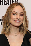 Olivia Wilde attends the opening night performance of the MCC Theater's 'Alice By Heart' at The Robert W. Wilson Theater Space on February 26, 2019 in New York City.