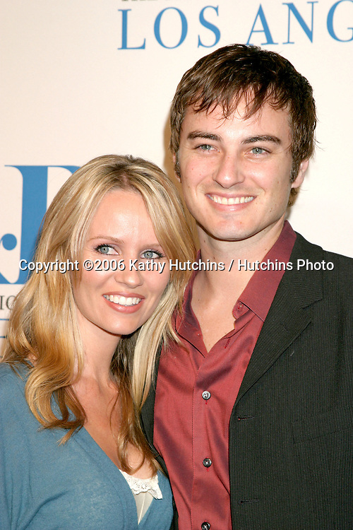 Kerr Smith & Wife.Museum of TV & Radio Annual Gala IHO Les Moonves and Jerry Bruckheimer.Regent Beverly Wilshire Hotel.Beverly Hills, CA.October 30, 2006.©2006 Kathy Hutchins / Hutchins Photo....
