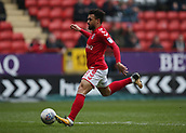 24th March 2018, The Valley, London, England;  English Football League One, Charlton Athletic versus Plymouth Argyle; Nicky Ajose of Charlton Athletic in shooting action