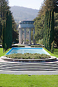 The Pulgas Water Temple celebrates the terminus of the of the water system that brings water from Hetch Hetchy in Yosemite National Park to the San Francisco area for drinking water. Woodside, California