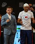 Boxing Press conference  Canelo v Kovalev