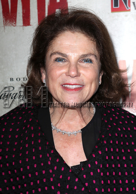 Tovah Feldshuh.attending the Broadway Opening Night Performance of 'EVITA' at the Marquis Theatre in New York City on 4/5/2012 © Walter McBride / WM Photography