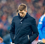 08.11.2019 League Cup Final, Rangers v Celtic: Steven Gerrard