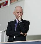 West Ham's owner Eggert Magnusson. .Pic SPORTIMAGE/David Klein
