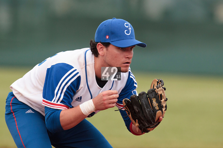 18 August 2010: Jorge Hereaud of Team France is seen during France 7-3 win over Ukraine, at the 2010 European Championship, under 21, in Brno, Czech Republic.
