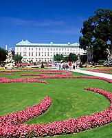 Oesterreich, Salzburger Land, Salzburg: Schloss Mirabell und Mirabellgarten | Austria, Salzburger Land, Salzburg: Palace Mirabell and Mirabell Garden