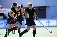 Action from the National Senior Women's Hockey Tournament match between Tauranga and Wellington at National Hockey Stadium in Wellington, New Zealand on Tuesday, 18 September 2018. Photo: Dave Lintott / lintottphoto.co.nz