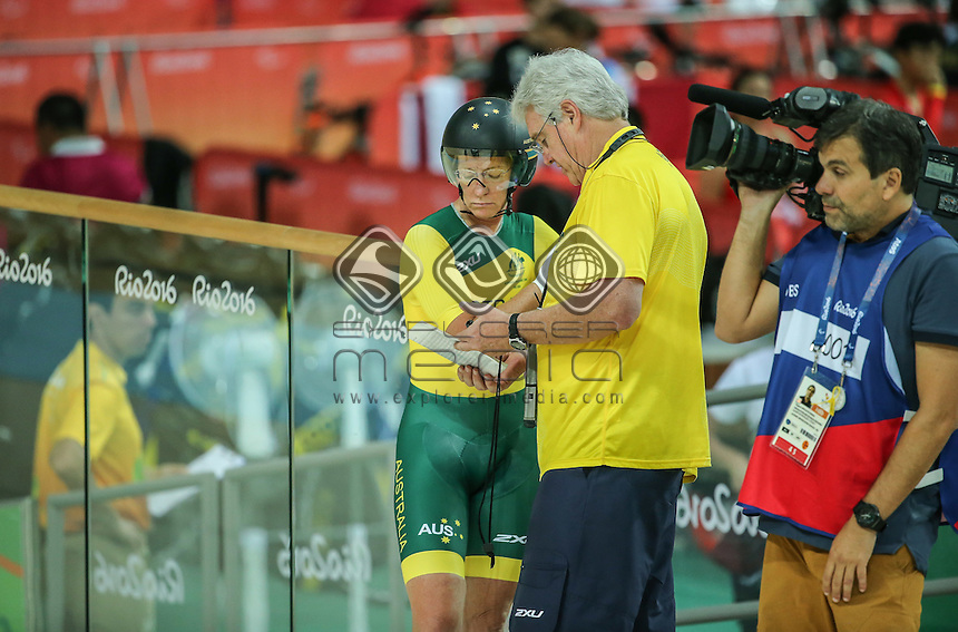 Susan Powell,  Womens C4 3000m Indy pursuit, On the morning of day one at Rio Olympic Velodrome.<br /> 2016 Paralympic Games - RIO Brazil<br /> Australian Paralympic Committee<br /> Thursday 8th September 2016<br /> &copy; Sport the library / Drew Chislett