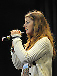 Jessica Kirwan Loretto Convent Navan performing in the School Stars auditions in the TLT Drogheda. Photo: Colin Bell/pressphotos.ie